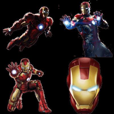 Iron Man transparent PNG images - StickPNG