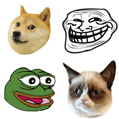 Memes Transparent Png Images Stickpng