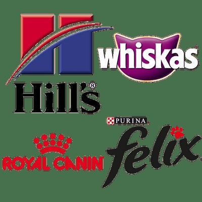Pet Food Brands logos