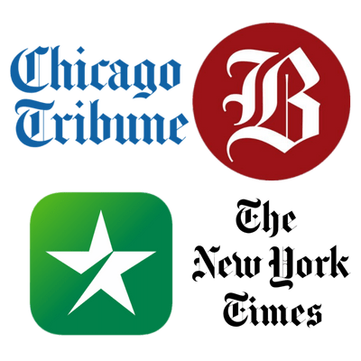 Newspaper logos USA
