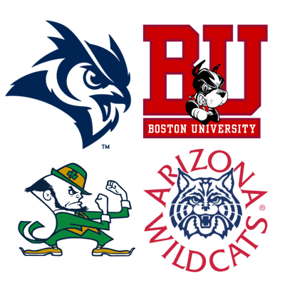 American University Sports Teams logos