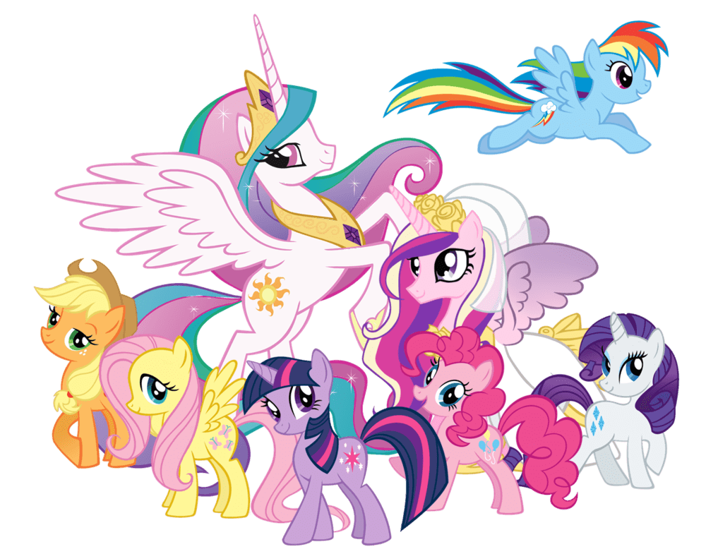 My Little Pony Unicorn Transparent Png Stickpng