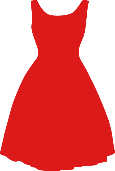 dress red clipart transparent png stickpng rh stickpng com summer dresses clipart dresses clipart black and white
