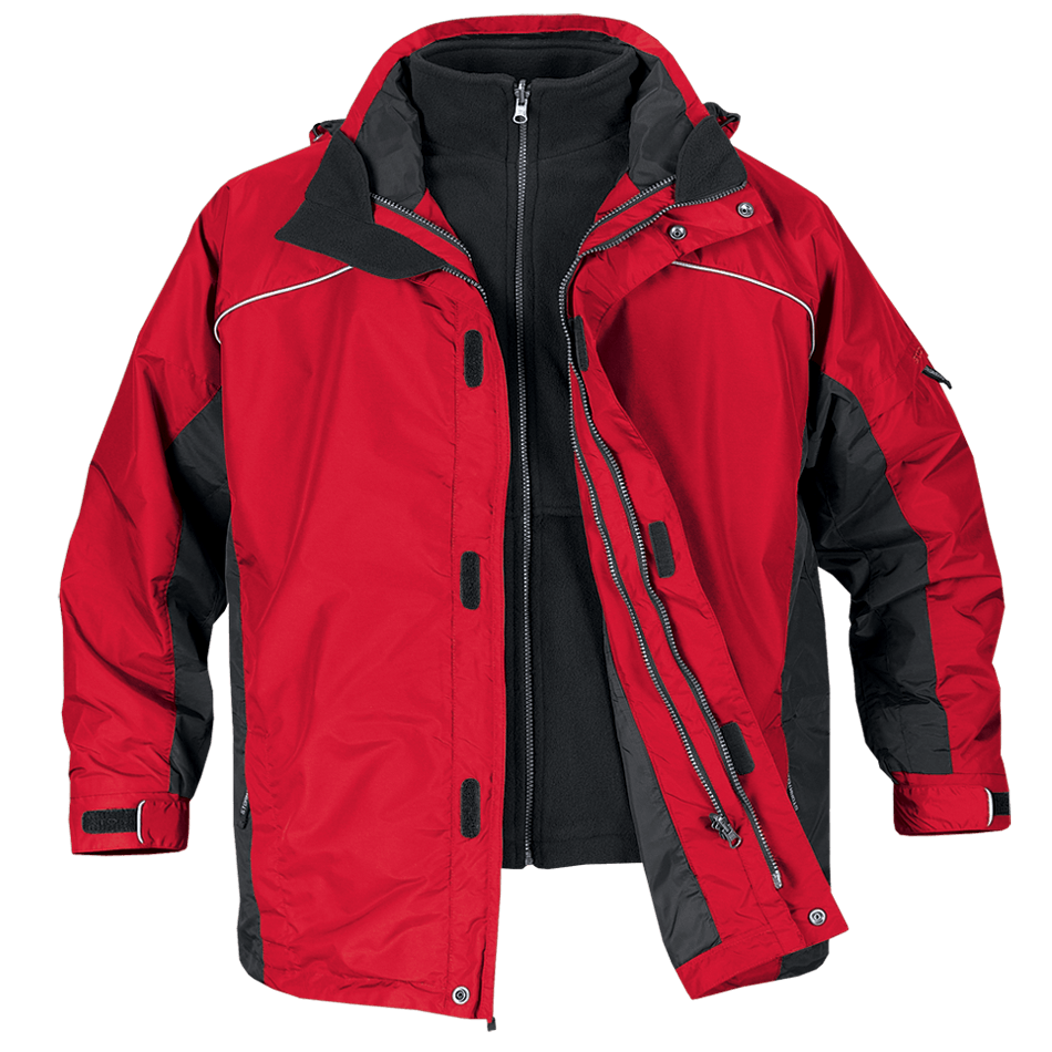 Jacket Red Winter Transparent Png Stickpng