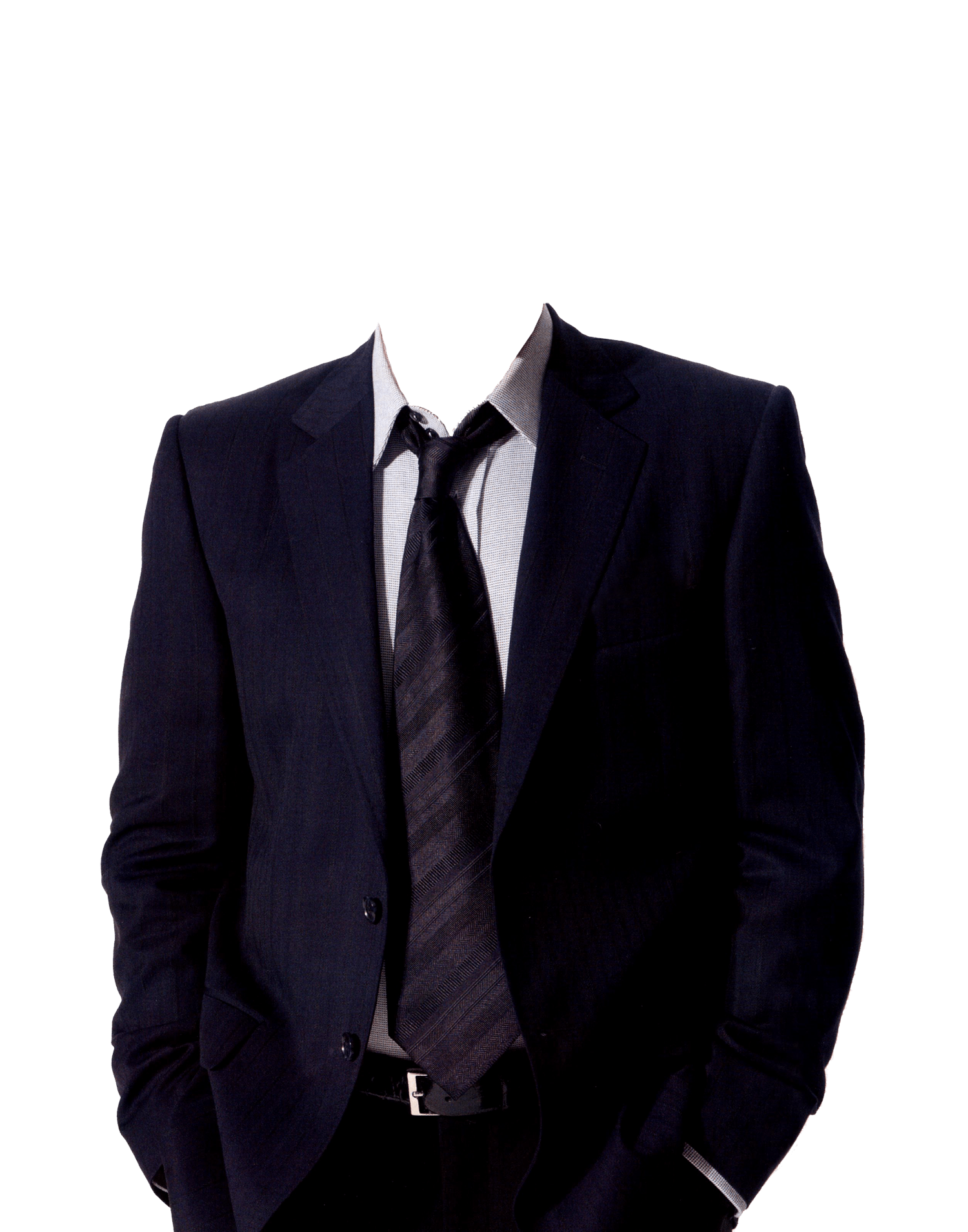 suit and tie no head transparent png stickpng