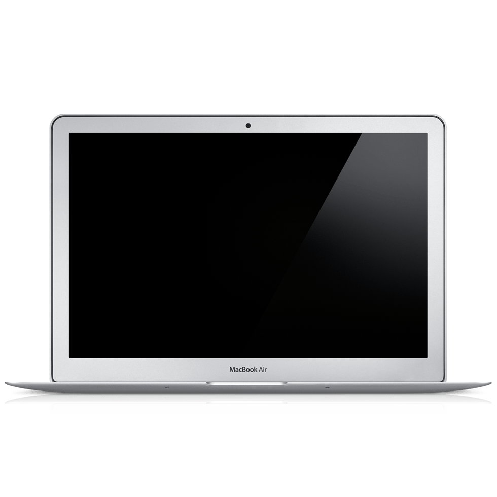 Macbook Air Laptop transparent PNG - StickPNG