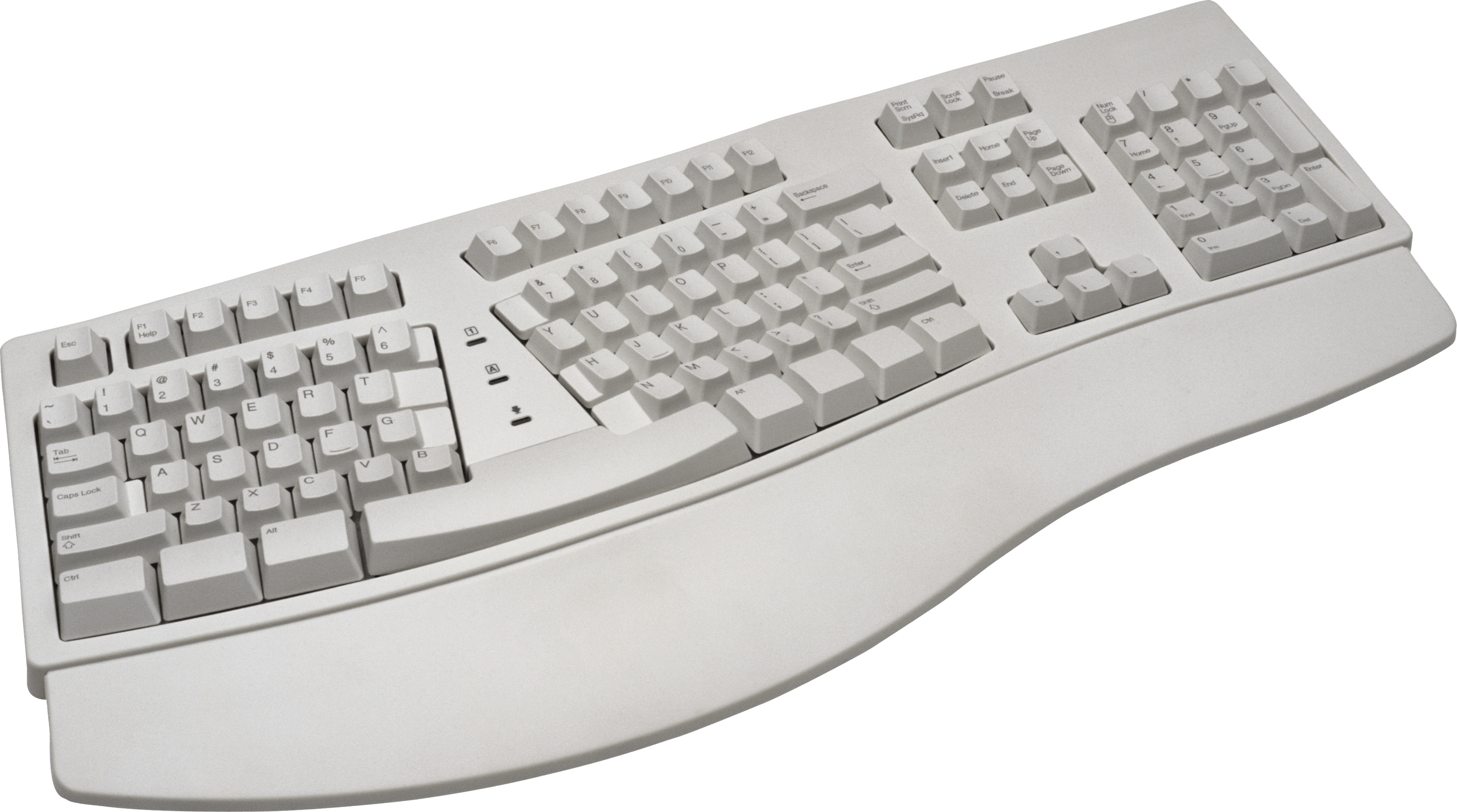 Ergonomic Keyboard Transparent Png Stickpng
