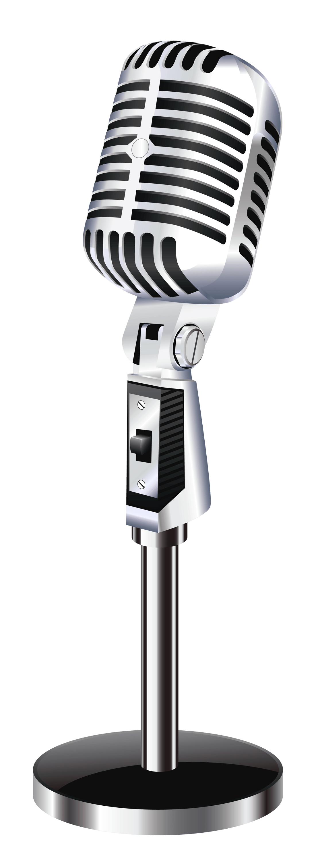 Vintage Table Microphone transparent PNG - StickPNG