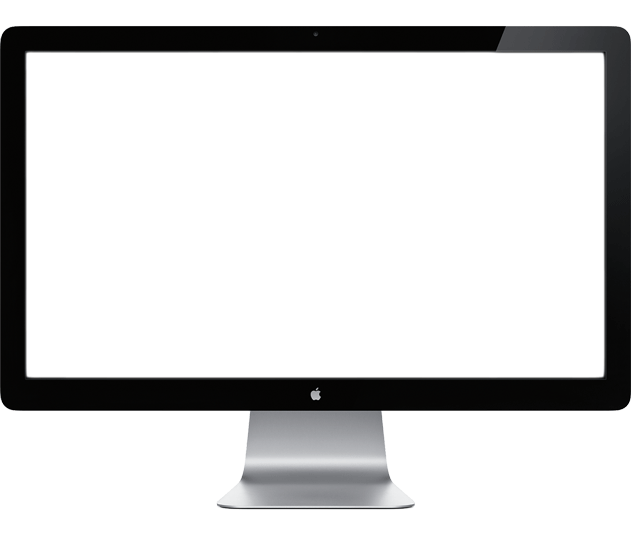 Monitor Apple transparent PNG - StickPNG