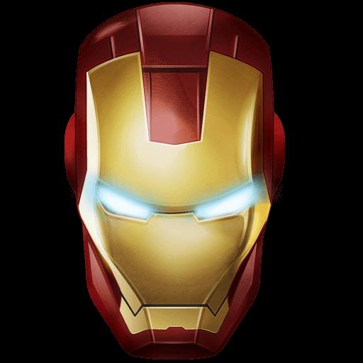 Iron man mask transparent png stickpng - Masque iron man adulte ...