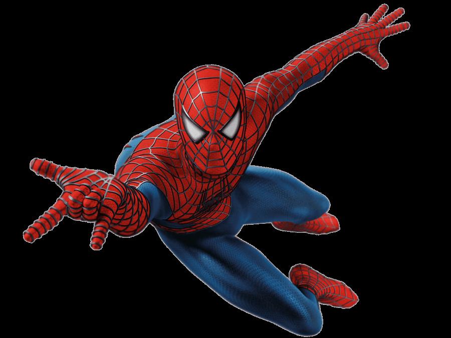 Spiderman transparent. Spider man front png