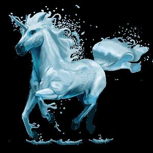 Unicornio Agua Png Transparente Stickpng