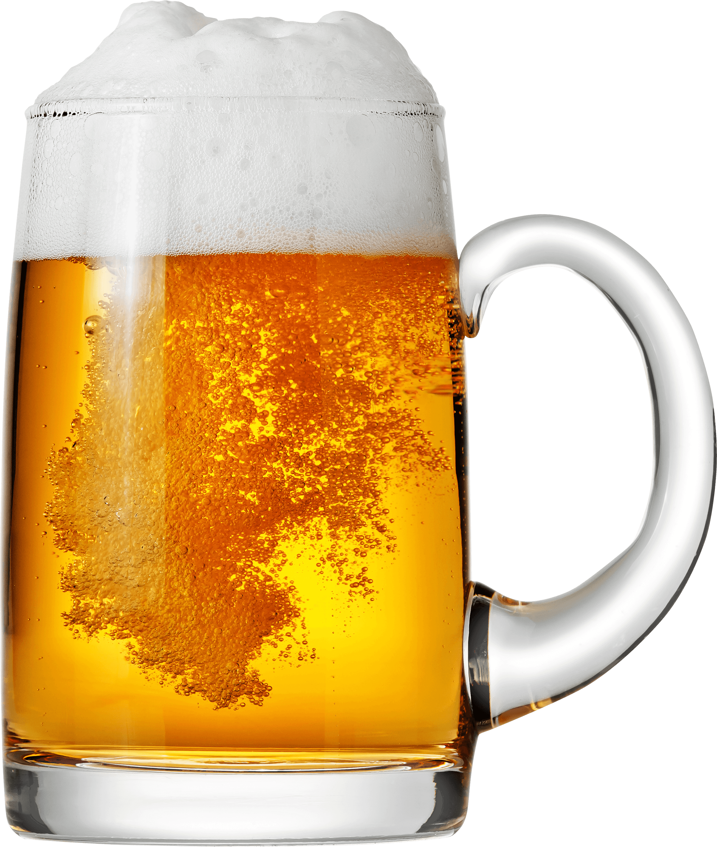 Pinte De Biere A Bulles Png Transparents Stickpng