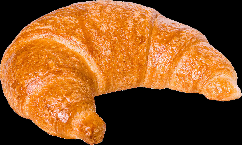Croissant Bread Side Transparent PNG