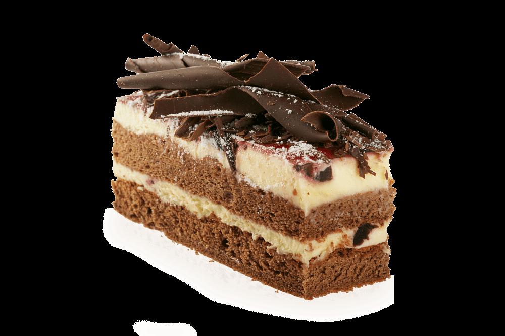 Image Slice Chocolate Cake
