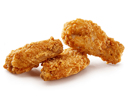 Fried Chicken Fast Food Transparent Png Stickpng