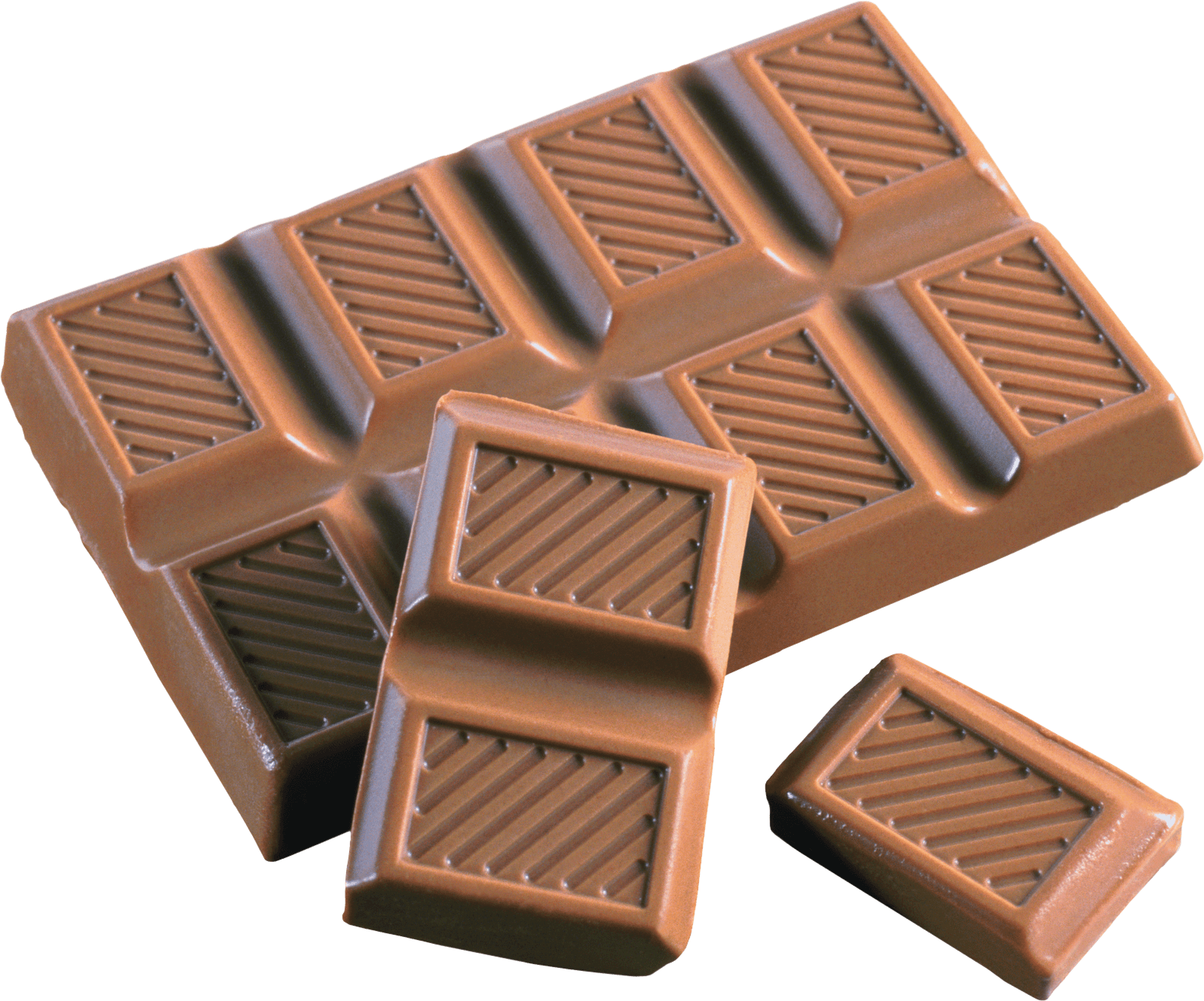 Chunks Tablet Chocolate transparent PNG - StickPNG