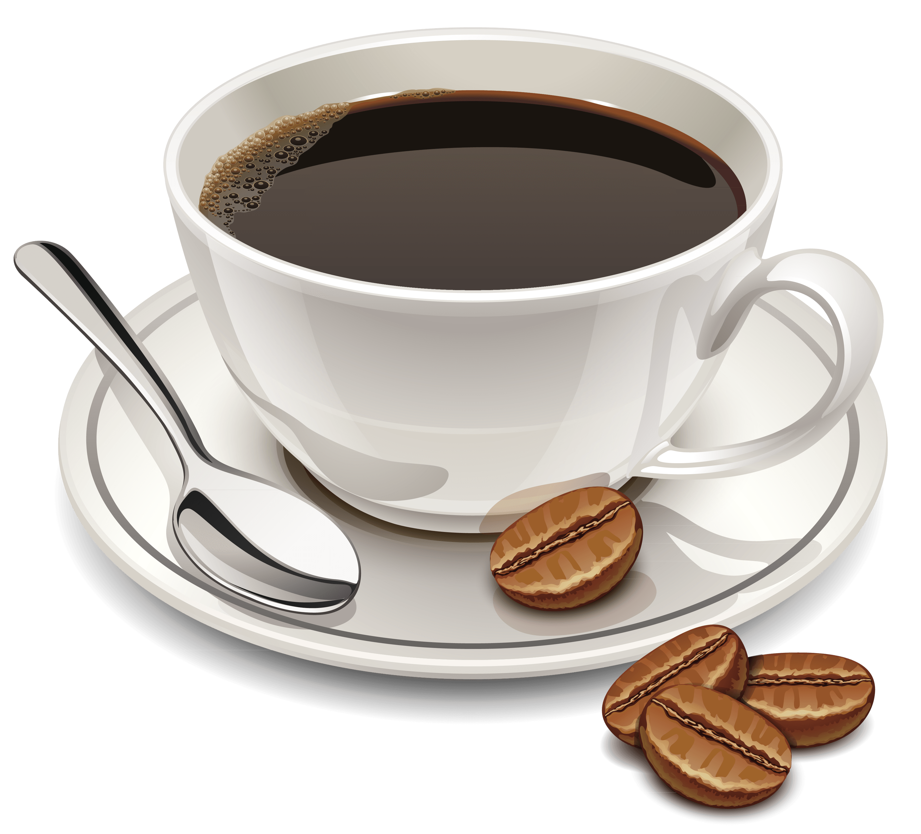 Coffee and Beans transparent PNG - StickPNG