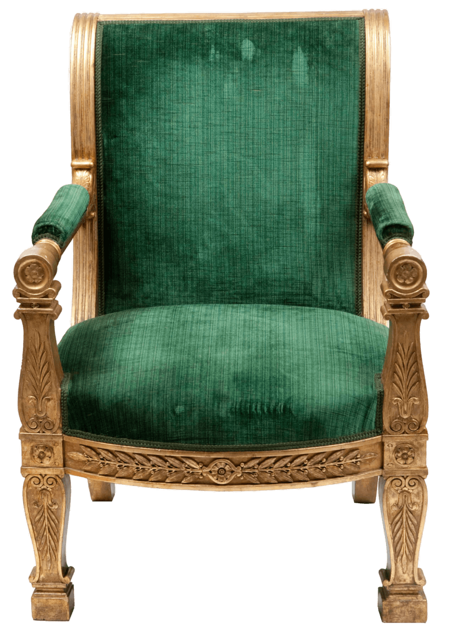 Armchair Green Vintage