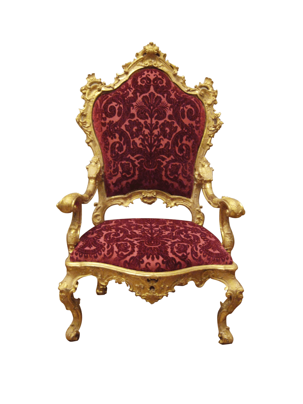 Armchair Royal transparent PNG - StickPNG