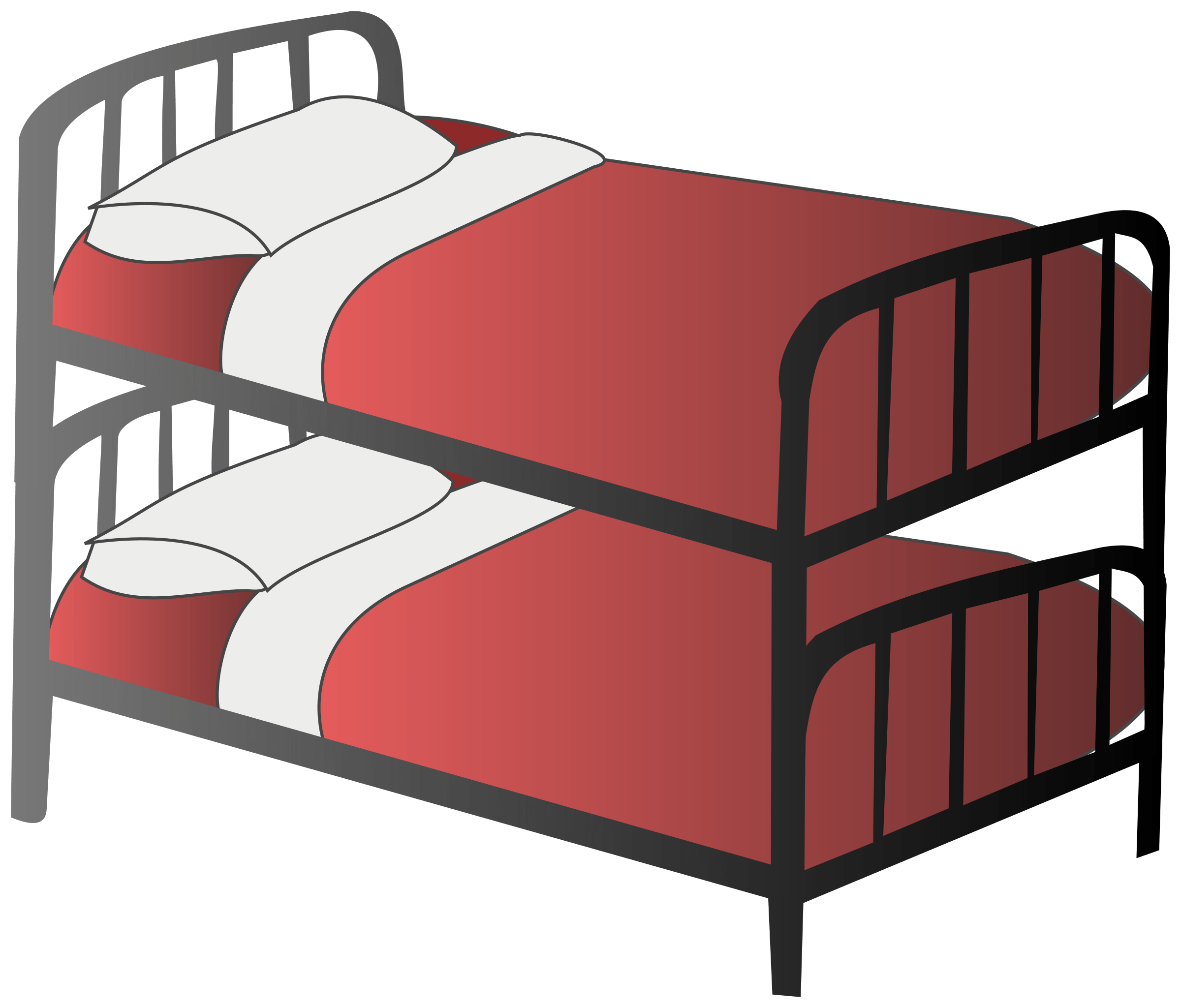 bed png. Simple Bed Bunk Bed Intended Png