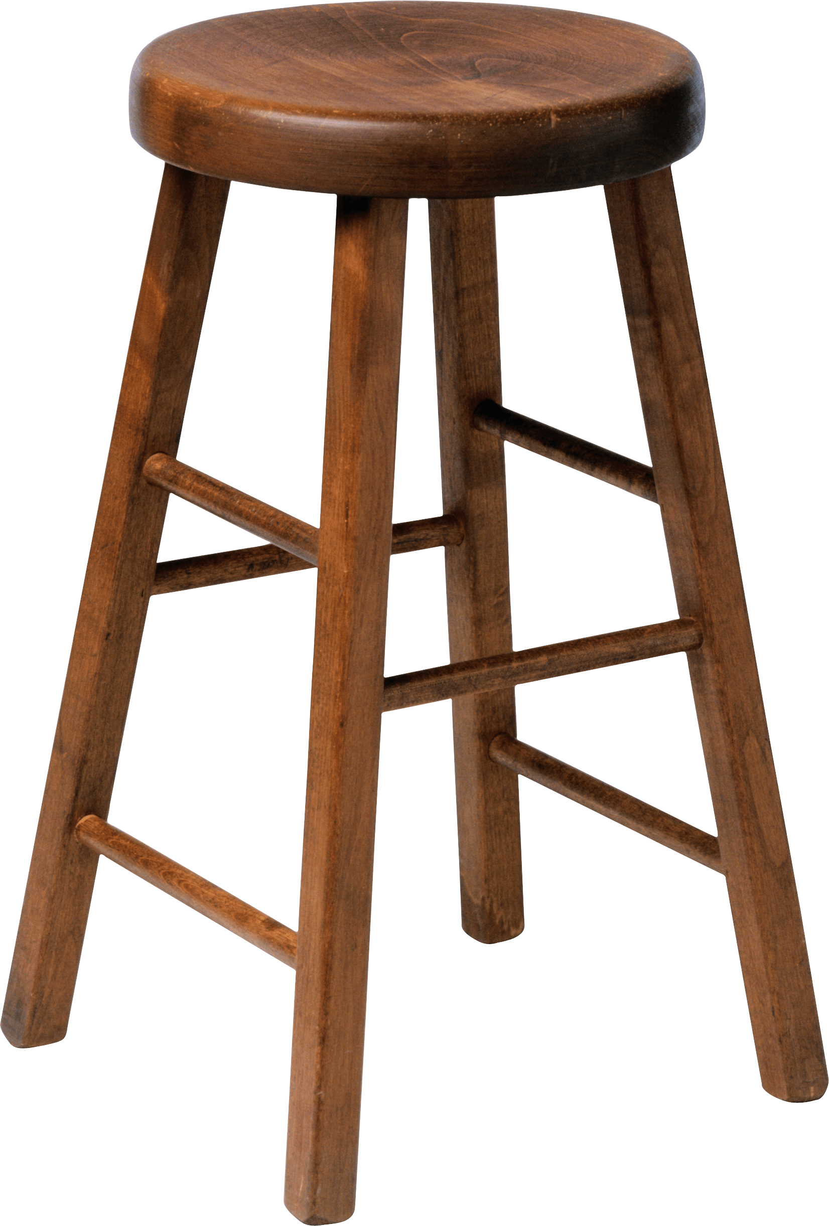 Wooden Stool Chair Transpa Png