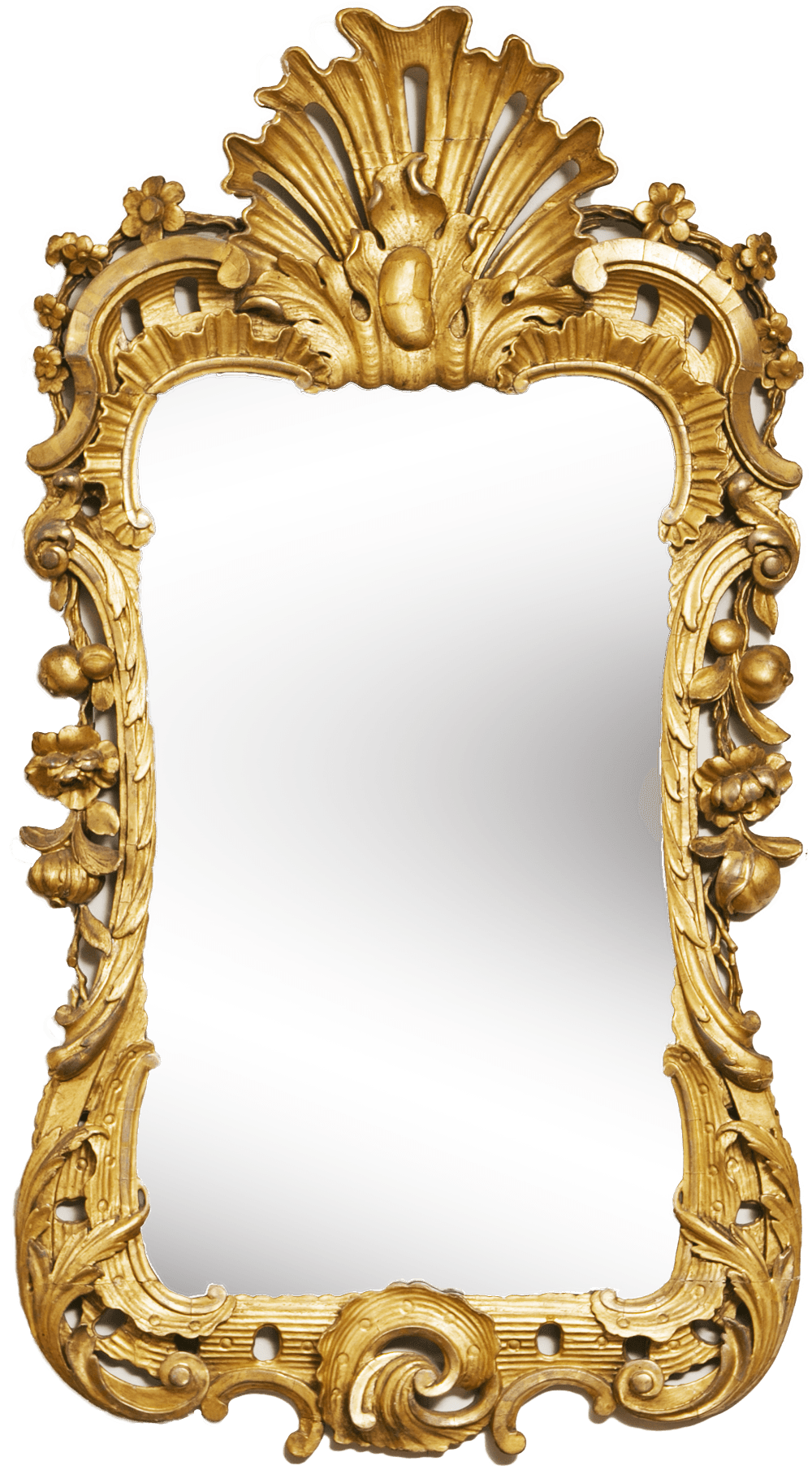 Mirror Gold Frame transparent PNG - StickPNG