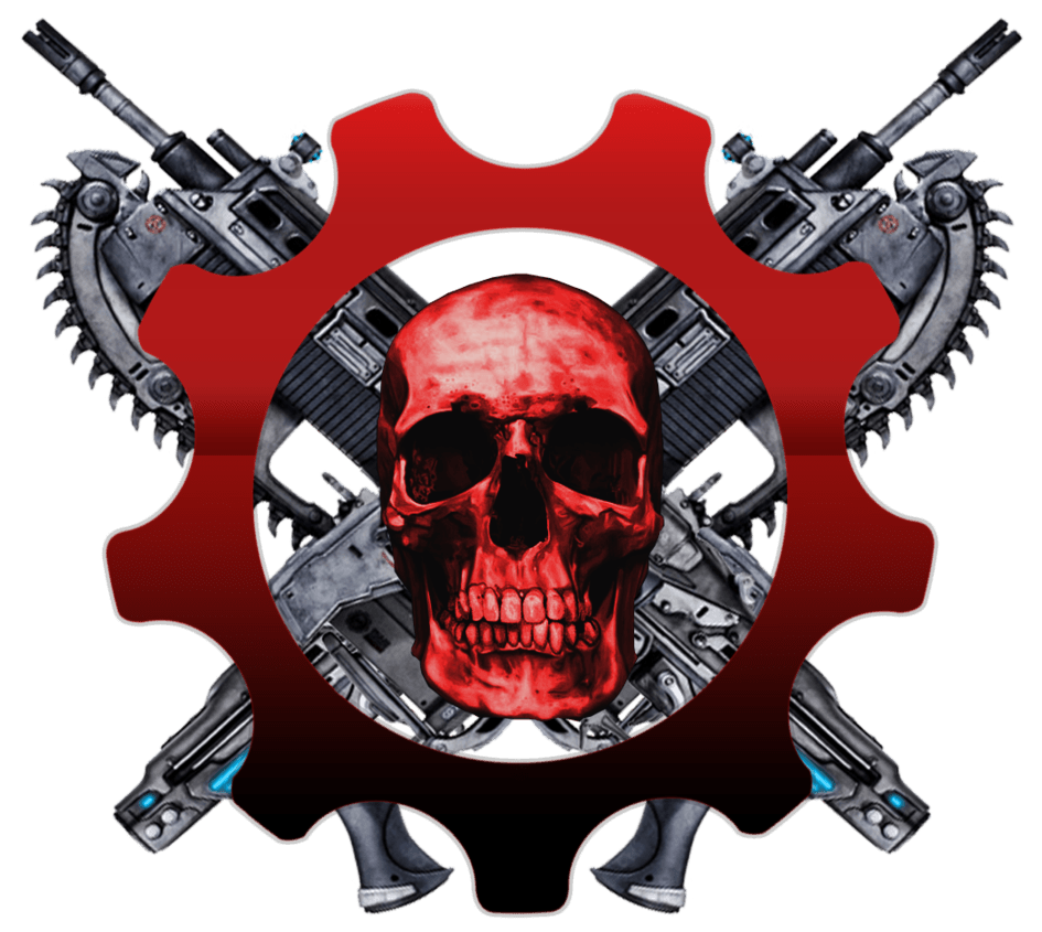 Gears of war skull logo transparent png stickpng download games gears of war voltagebd Choice Image