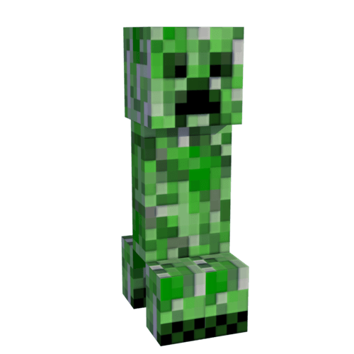 Creeper Minecraft Transparent Png Stickpng