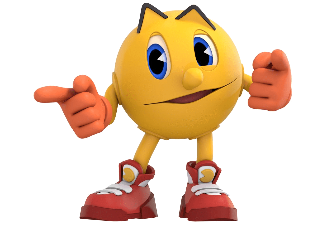 Pacman Pointing Finger Transparent Png Stickpng