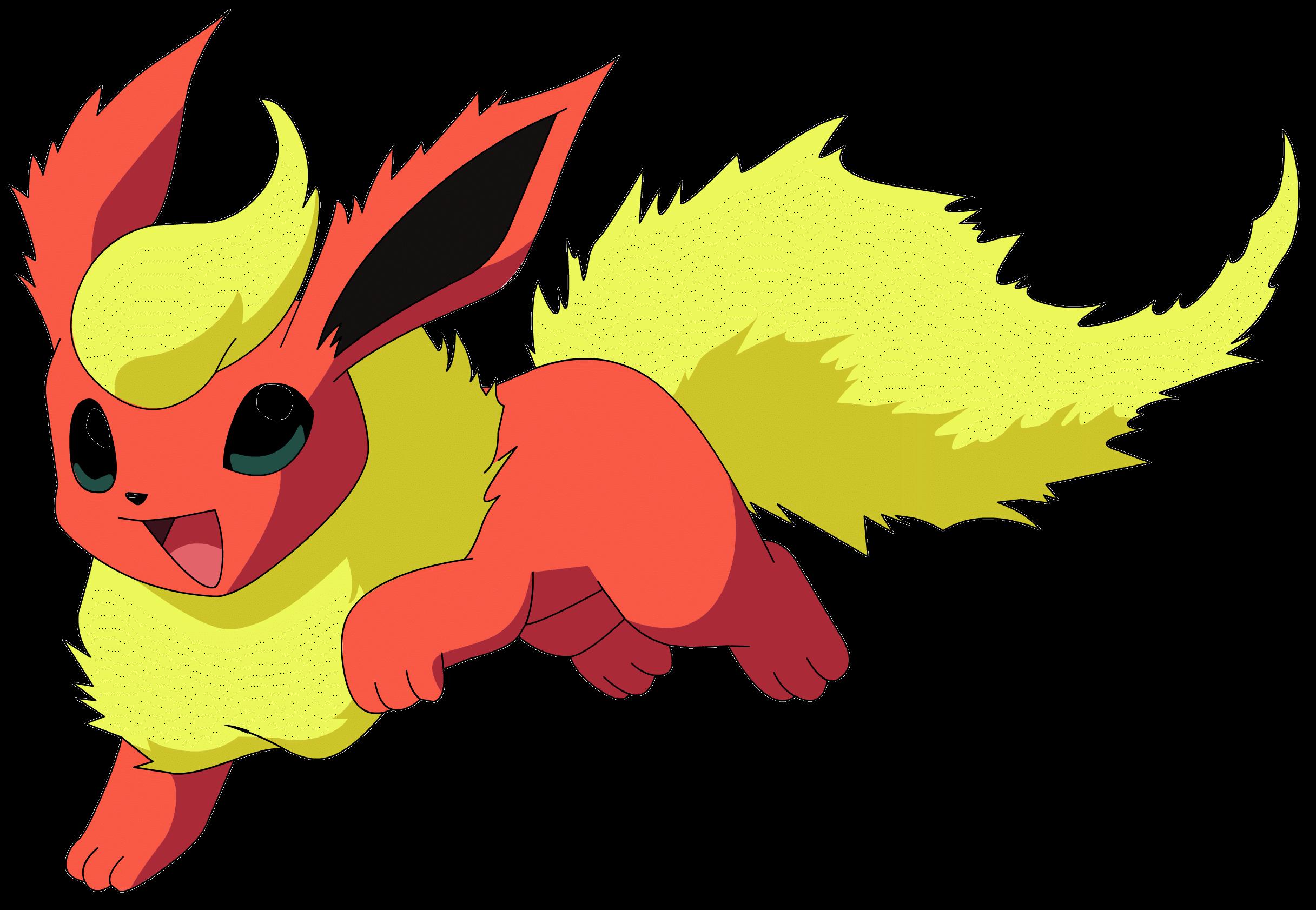 Flareon Pokemon Transparent Png Stickpng
