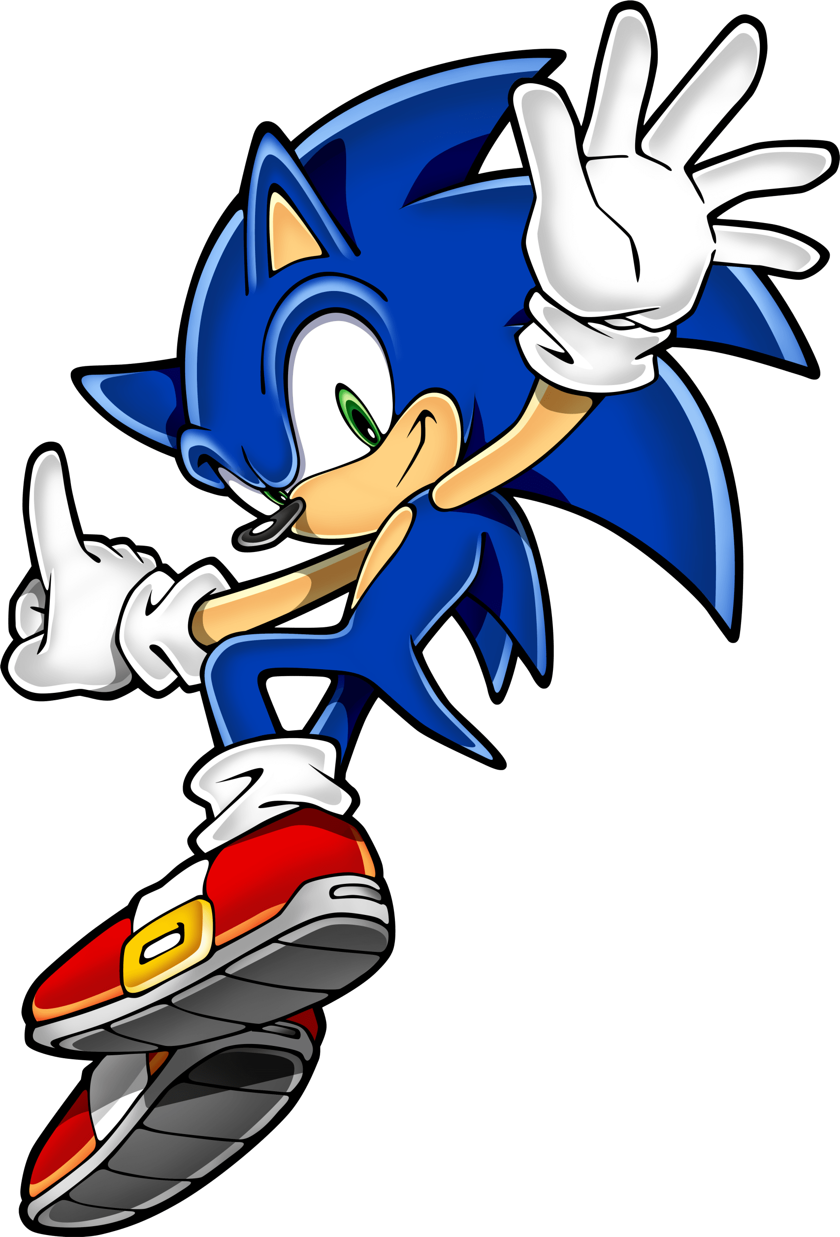 Sonic Hedgehog Jumping Transparent Png Stickpng