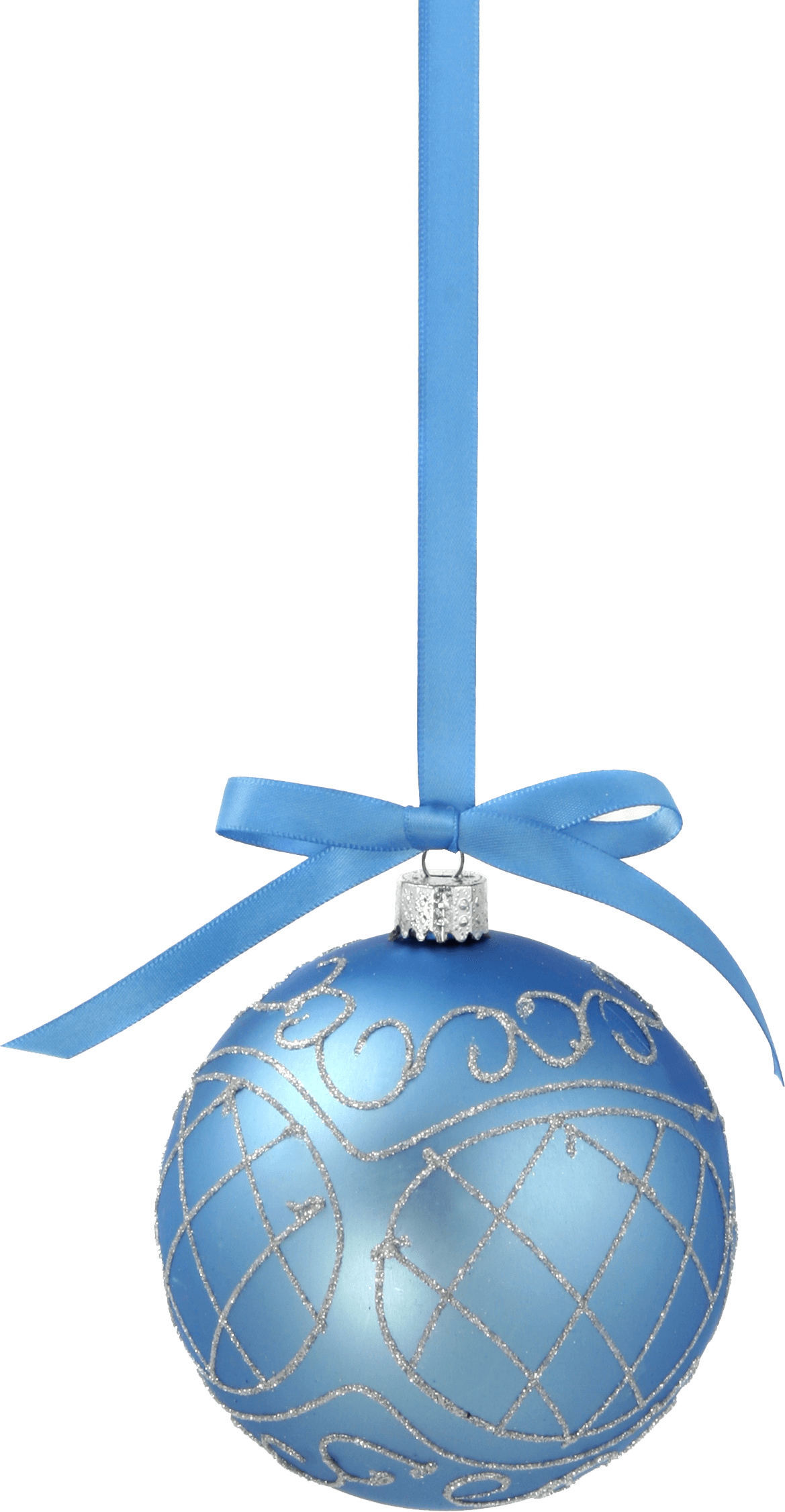 Teal Christmas Ornaments