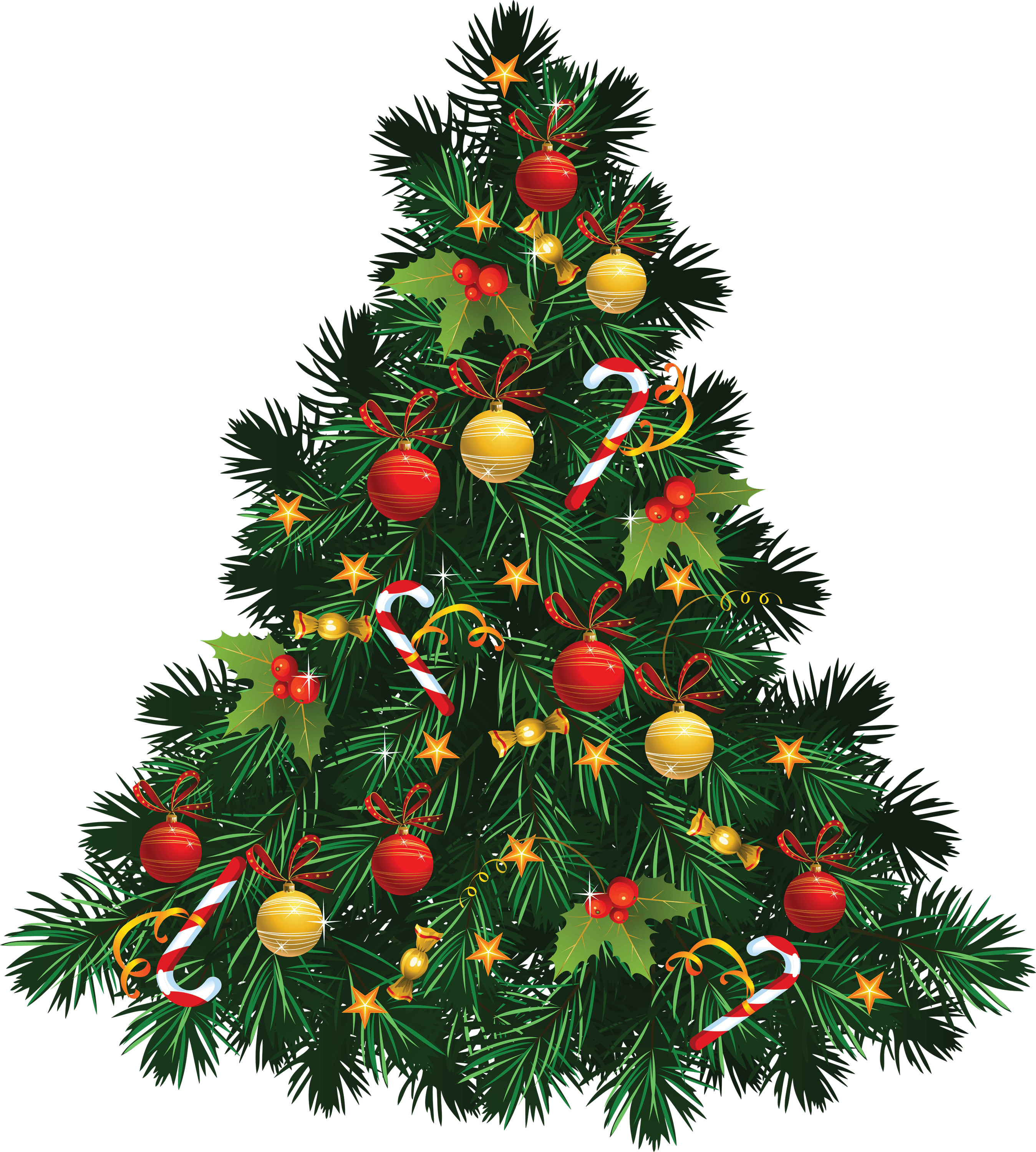 Fir Tree Christmas Transparent Png Stickpng