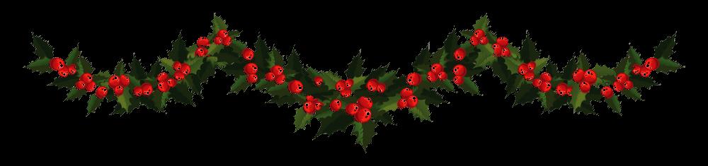 Navidad Guirnalda Roja PNG transparente - StickPNG