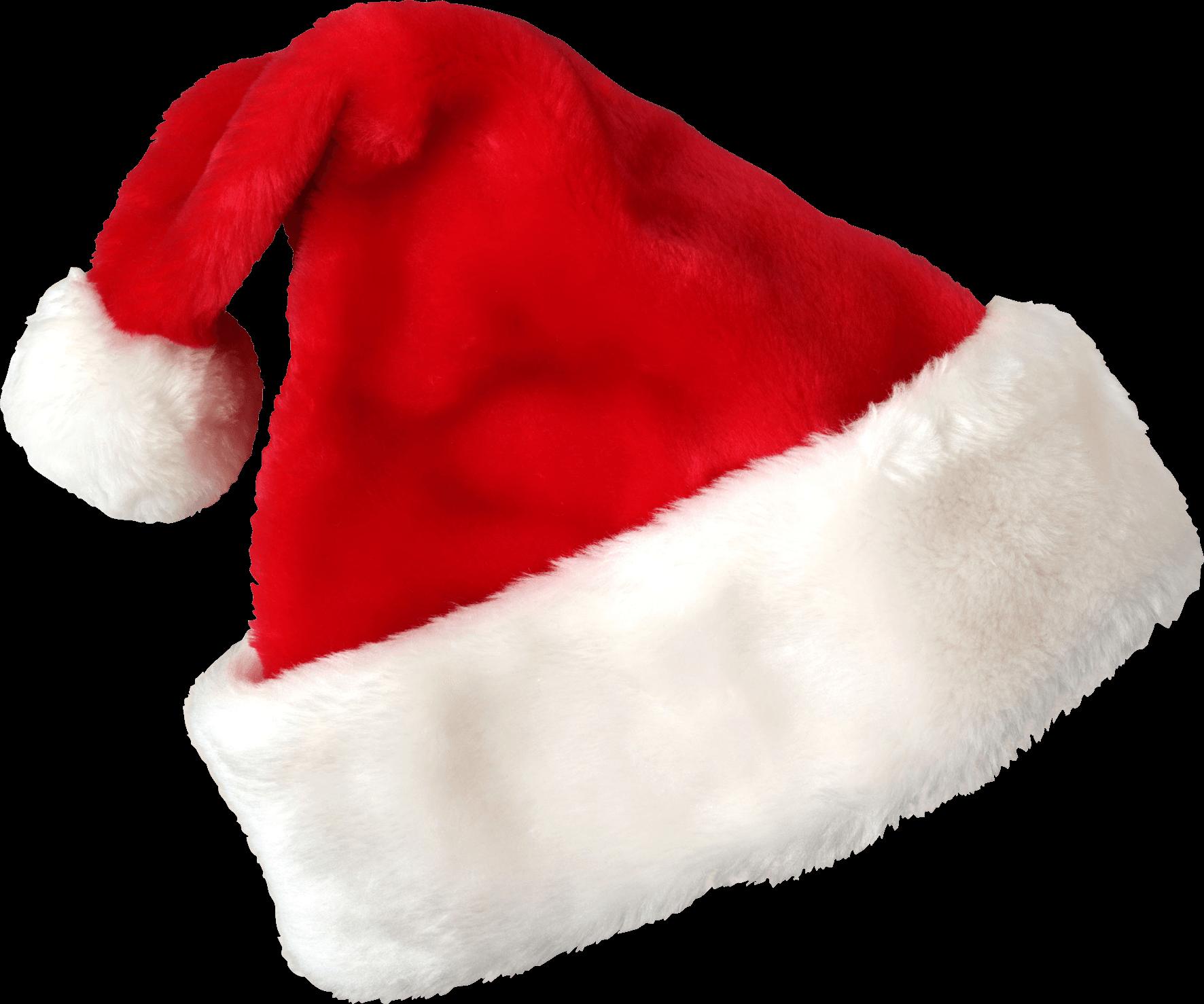 Transparent Christmas Hat.Hat Santa Claus Christmas Transparent Png Stickpng