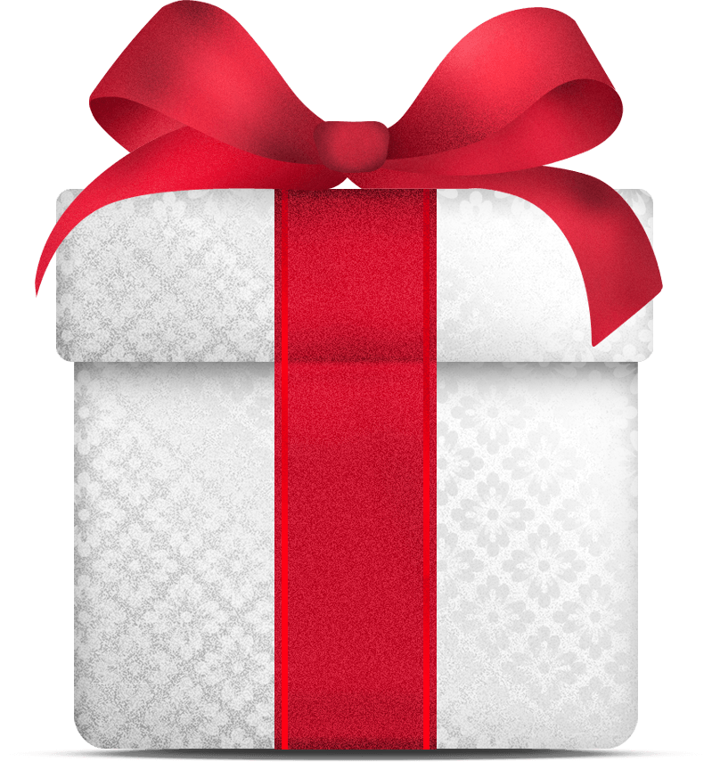 White Gift Christmas transparent PNG - StickPNG