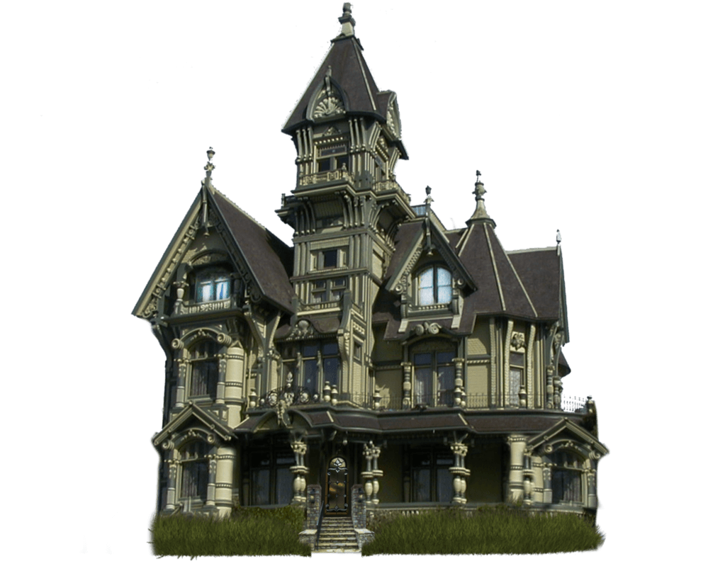 Haunted manor halloween transparent png stickpng for House image hd