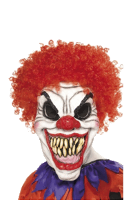 Scary Clown Halloween transparent PNG - StickPNG