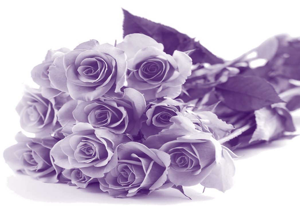 Happy Mothers Day Purple Flowers Transparent Png Stickpng
