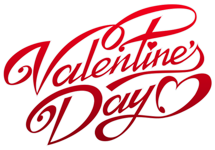 Valentines Day Text Transparent Png Stickpng
