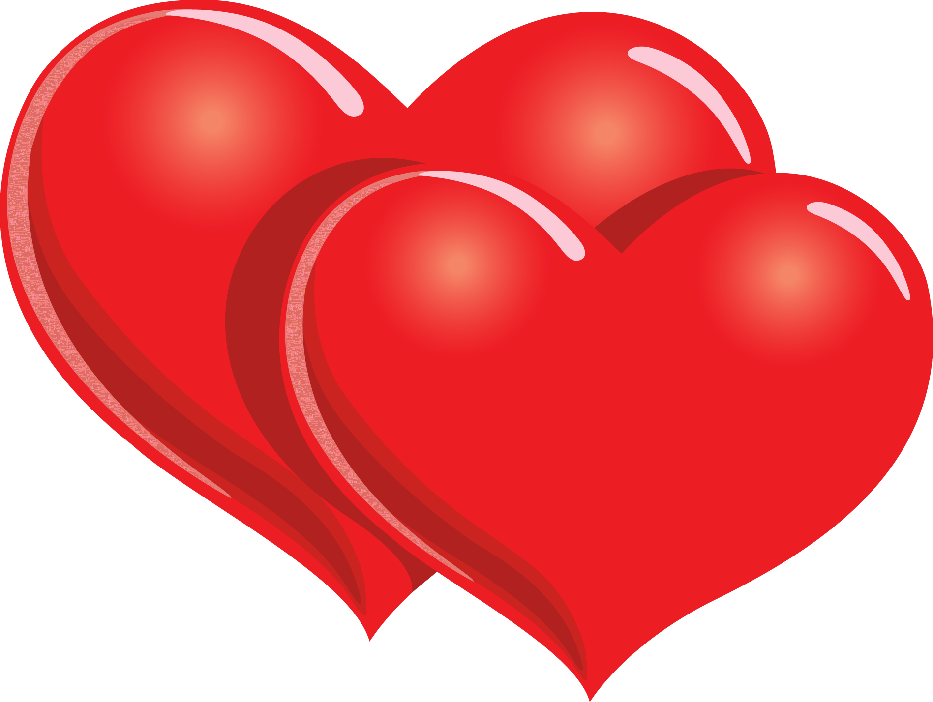 happy valentines two hearts transparent png stickpng happy valentine's day clip art images happy valentine's day clip art minions