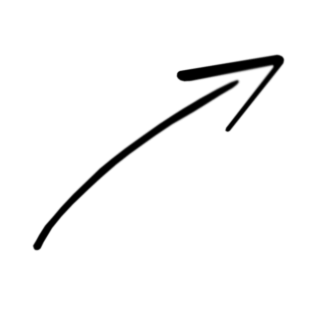 Arrow Rough Drawig Top Right transparent PNG - StickPNG