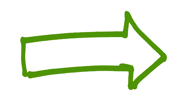 Risultati immagini per green arrow transparent background