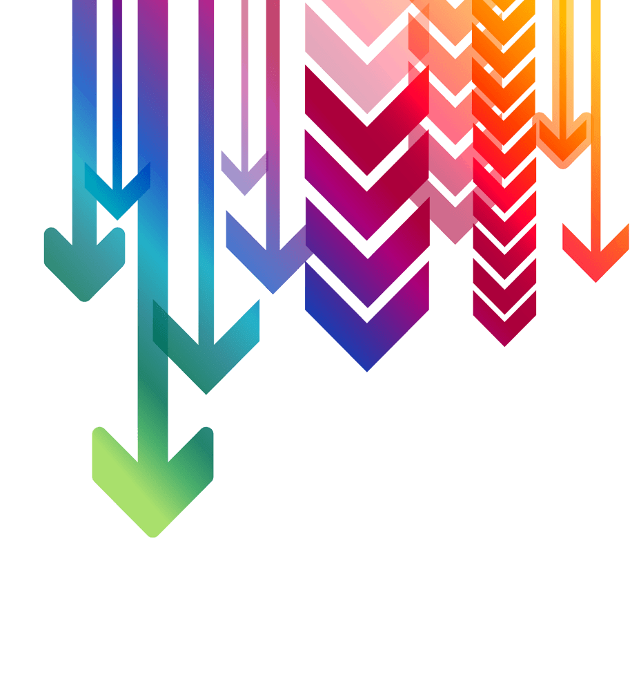 Multiple Arrows Down transparent PNG - StickPNG