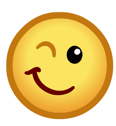 Emoticône Clin d'oeil PNG transparents - StickPNG