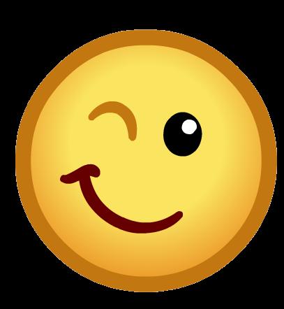 Emoticone Clin D Oeil Png Transparents Stickpng