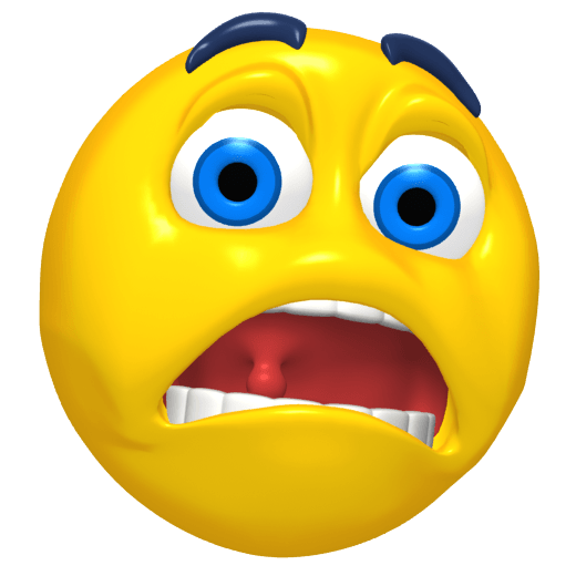 Emoticon Scared transparent PNG - StickPNG
