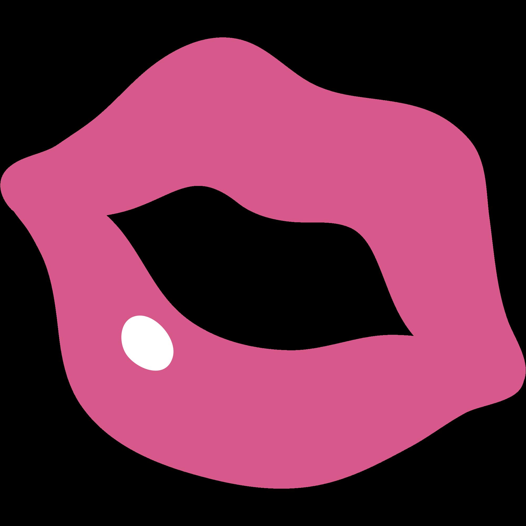 Emoticone Bisou Rose Png Transparents Stickpng