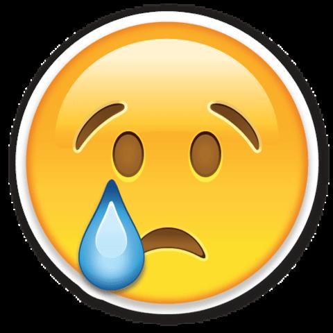Resultado de imagen para emoji triste png